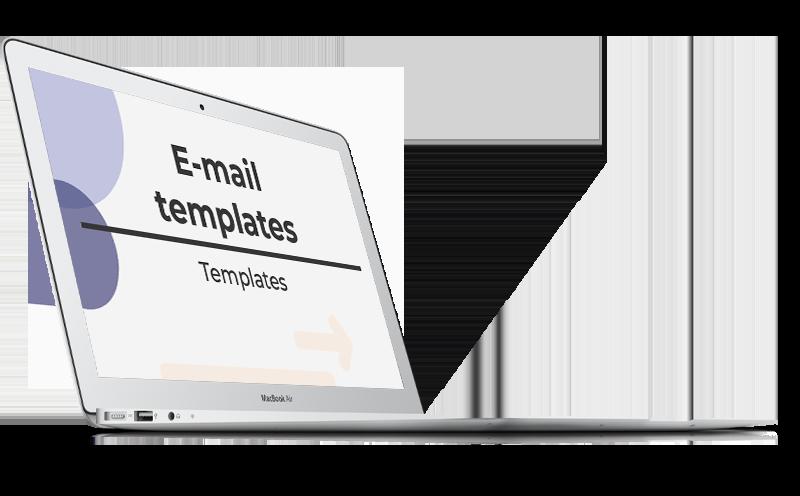 LinkedIn banner 8 tijdsbesparende e-mail templates